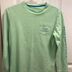 Light green vineyard boys shirt
